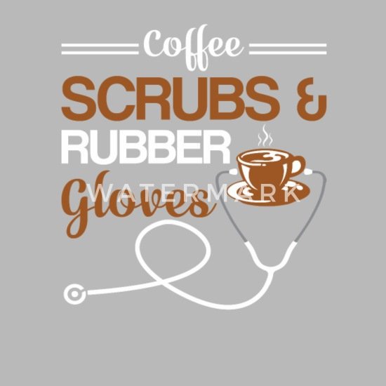da003e132 Coffee Scrubs Rubber Gloves Coffee Nurse Travel Mug | Spreadshirt