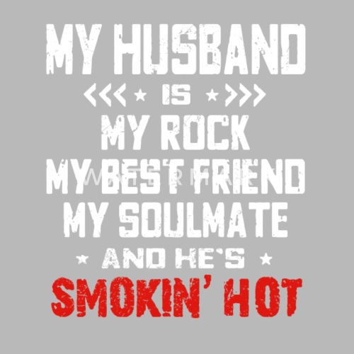 My Husband Is My Rock My Best Friend My Soulmate Travel Mug