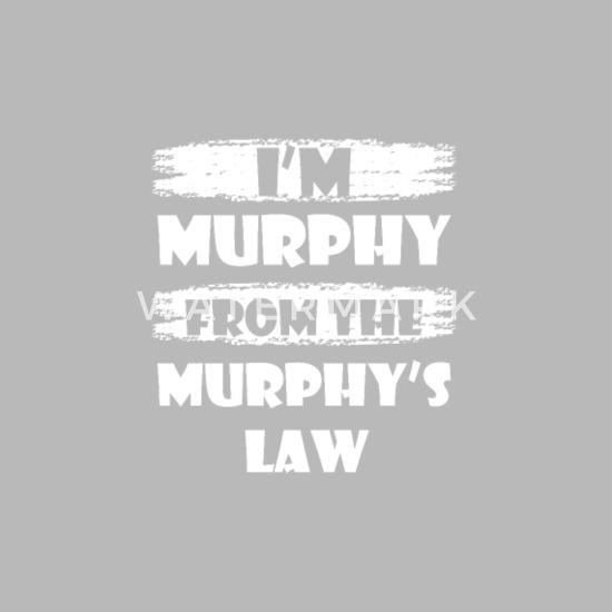 Murphys Law Gift Shirt Travel Mug - silver