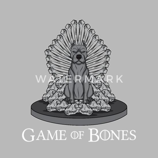 Game of Bones Middle age Dog Pitbull Throne gift Travel Mug