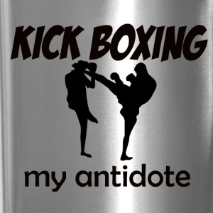 Kick Boxing design - Travel Mug