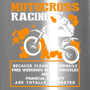 Motocross Racing Shirt - Travel Mug