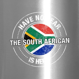 Have No Fear The South African Is Here Shirt - Travel Mug