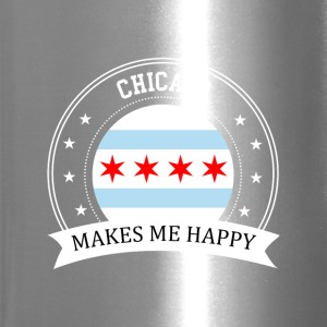 Chicago Makes Me Happy - Travel Mug