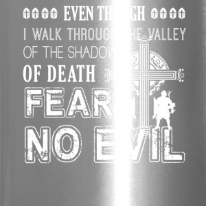Crusader Fear No Evil Shirt - Travel Mug