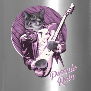 PURRPLE RAIN by PRRINCE THE CAT - Travel Mug