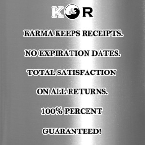 Karma Keeps Receipts - Travel Mug