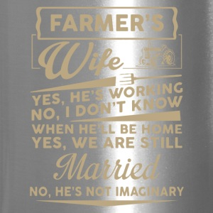 Farmer Wife Shirt - Travel Mug