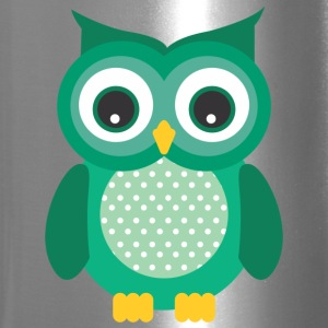 GREEN OWL - Travel Mug