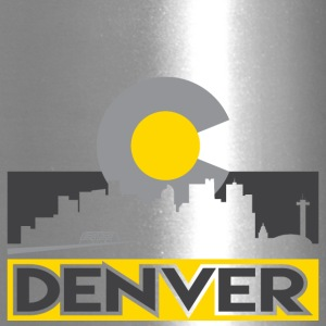 Denver Gray and Gold - Travel Mug