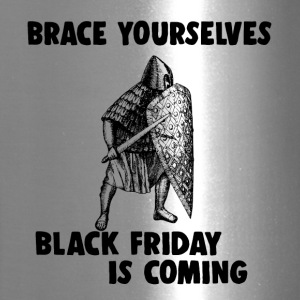 Black Friday is coming war warrior shopping - Travel Mug