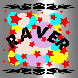 raver curve - Travel Mug