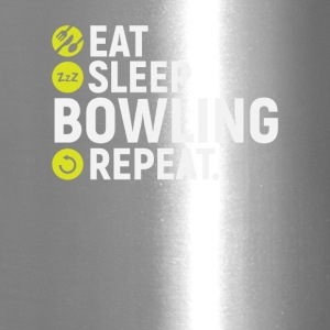 Eat, sleep, bowling, repeat - gift - Travel Mug