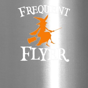 Frequent Flyer T-Shirt Perfect Halloween - Travel Mug