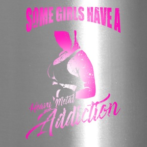 Some Girls Have A Heavy Metal Addiction Workout - Travel Mug
