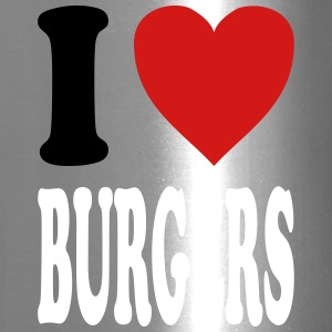 I love BURGERS (variable colors!) - Travel Mug