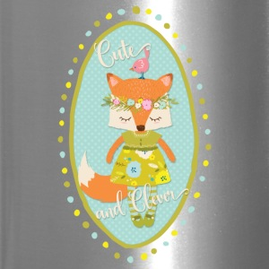 Cute and Clever Fox - Travel Mug