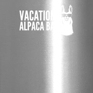 Vacation Alpaca Bag Animal Humor Funny - Travel Mug