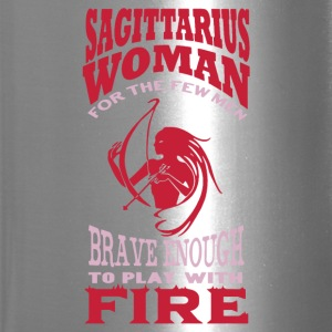 Sagittarius Woman Shirt - Travel Mug