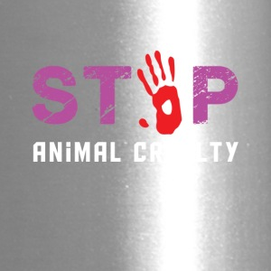 Stop animal cruelty - Travel Mug