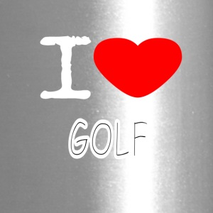 I LOVE GOLF - Travel Mug