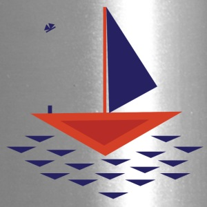 Boat abstract - Travel Mug