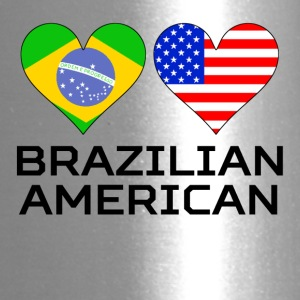 Brazilian American Hearts - Travel Mug