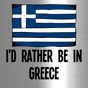 I'd Rather Be In Greece - Travel Mug