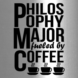 Philosophy Major Fueled By Coffee - Travel Mug