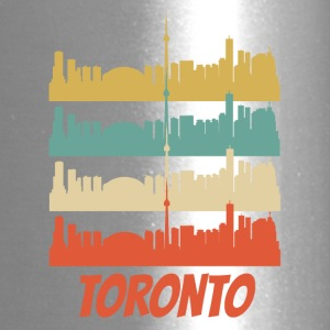 Retro Toronto Canada Skyline Pop Art - Travel Mug
