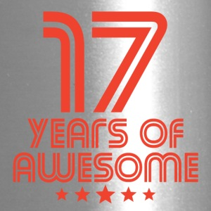 17 Years Of Awesome 17th Birthday - Travel Mug