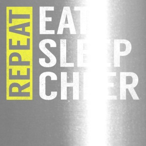 Eat Sleep Cheer Repeat Funny Cheerleader Gag Gift - Travel Mug