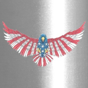 Fly America, Fly Eagle Flag - Travel Mug