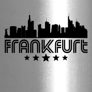 Retro Frankfurt Skyline - Travel Mug