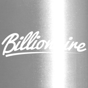 Billionaire - Underlined Design (White Letters) - Travel Mug