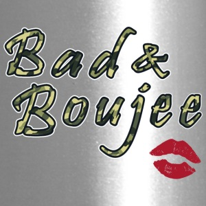 Bad And Boujee Camo Red lipps - Travel Mug