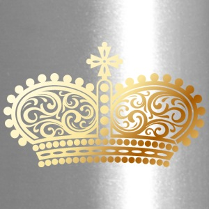 gold Crown shape - Travel Mug