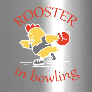 Rooster in Bowling - Travel Mug