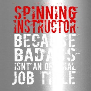 SPINNING INSTRUCTOR BADASS JOB TITLE - Travel Mug