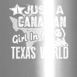 Canadian Girl Shirt - Travel Mug