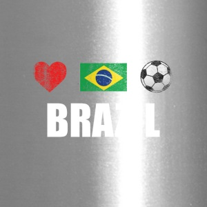 Brazil Football Brazilian Soccer T-shirt - Travel Mug