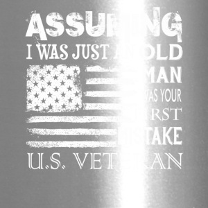 US VETERAN TEE SHIRT - Travel Mug