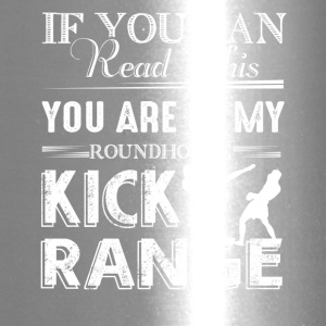 Roundhouse Kick Range Shirt - Travel Mug