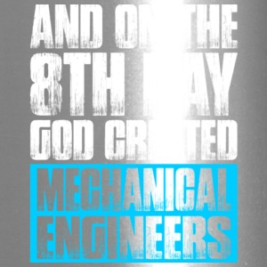 God Created Mechanical Engineers T Shirt - Travel Mug