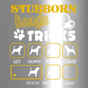 Stubborn Beagle Tricks Tee Shirt - Travel Mug