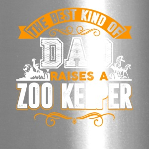 The Best Kind Of Dad Raises A Zoo Keeper Shirt - Travel Mug