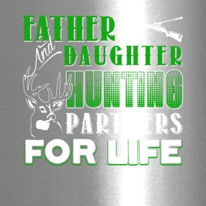 Father And Daughter Hunting Partners Shirt - Travel Mug