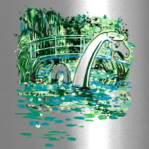 Water Lilies and Nessy - Travel Mug