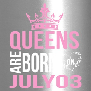Queens are born on July 03 - Travel Mug