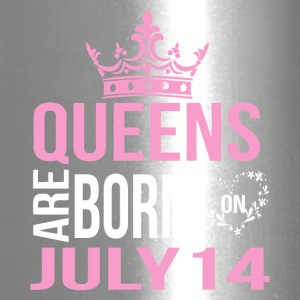 Queens are born on July 14 - Travel Mug